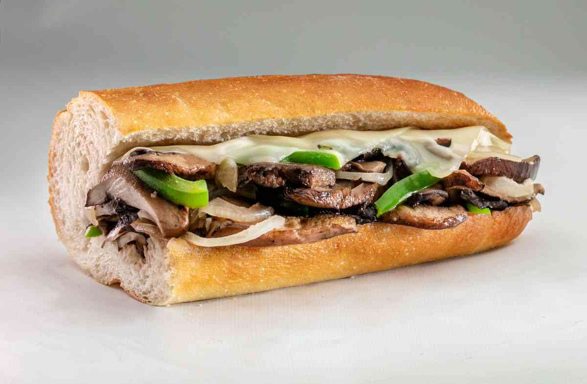 New Grilled Portabella Mushroom and Swiss Sub