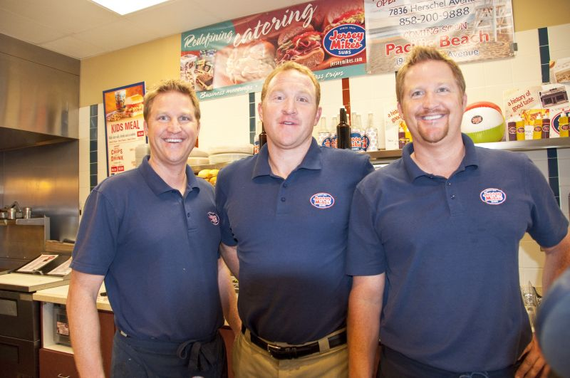 Brothers Pat, Kevin and Dave Kenny grew up near the first-ever Jersey Mike's Subs and have built a community around their Solana Beach franchise — the busiest of 525 locations.