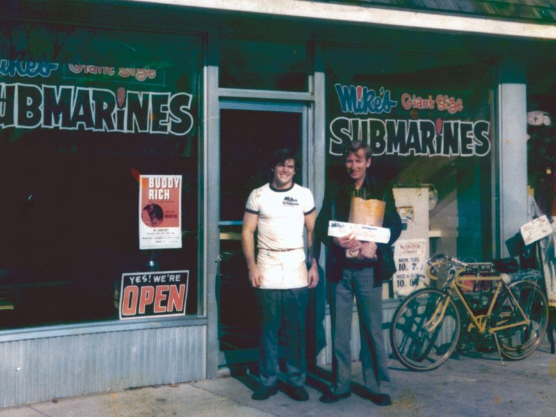 POINT PLEASANT, NJ-It all began here, with the heart - and the hunger - of a 17-year-old kid who decided he wanted to buy his favorite restaurant, a sub-sandwich shop called Mike's.