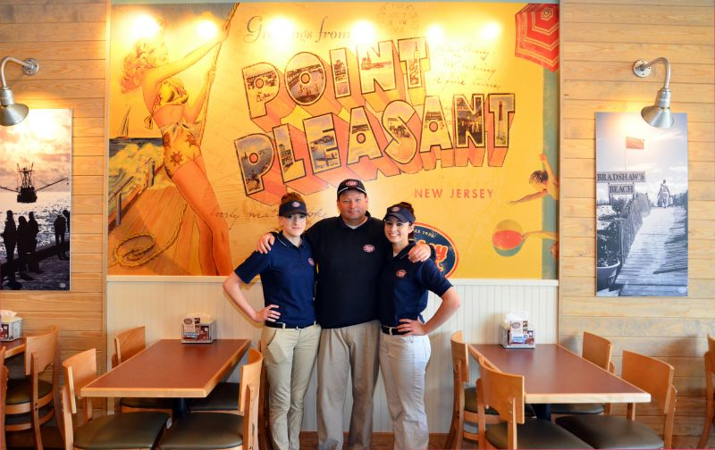 Planning more Jersey Mikes in the future, their Culpeper location tops the list. Pictured outside their franchise are Carey Coffey, Pat (owner) and daughter Kendra White.