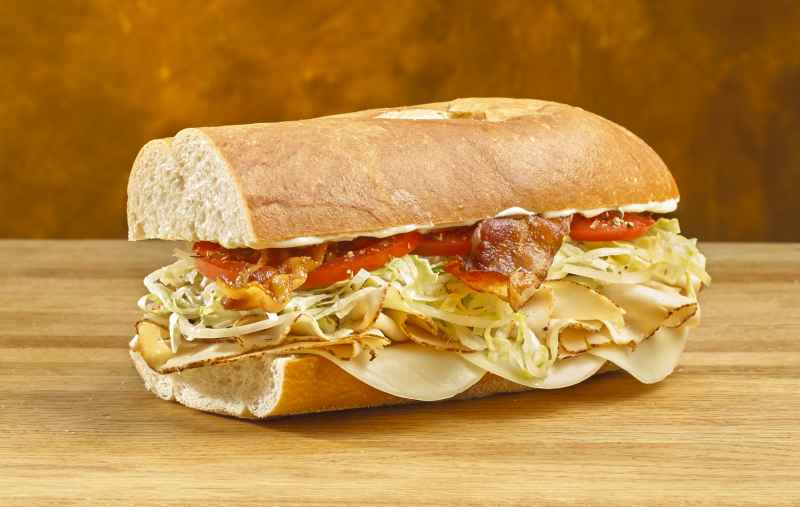 Jersey Mike's new Chicken Club Sub - YUM!