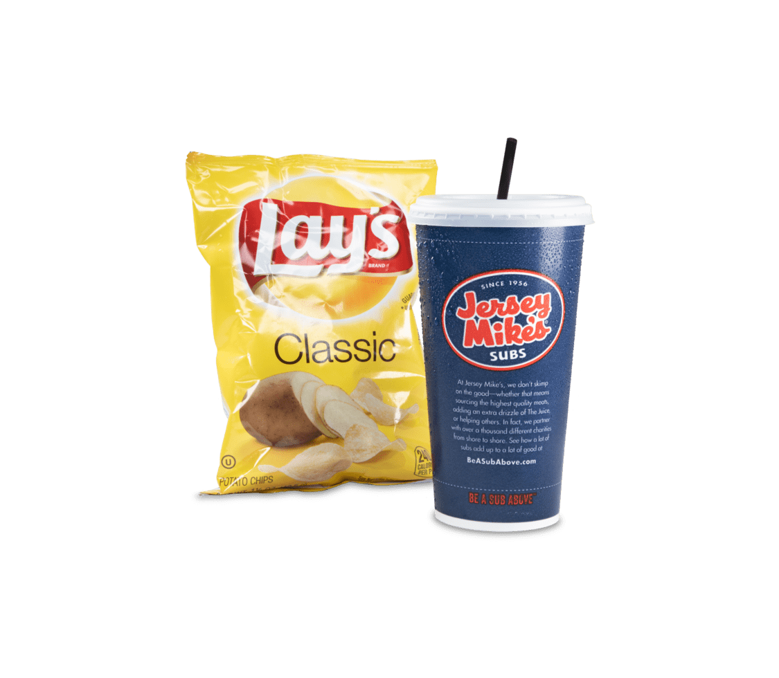 Regular Drink & Chips - Sides, Drinks, & Desserts
