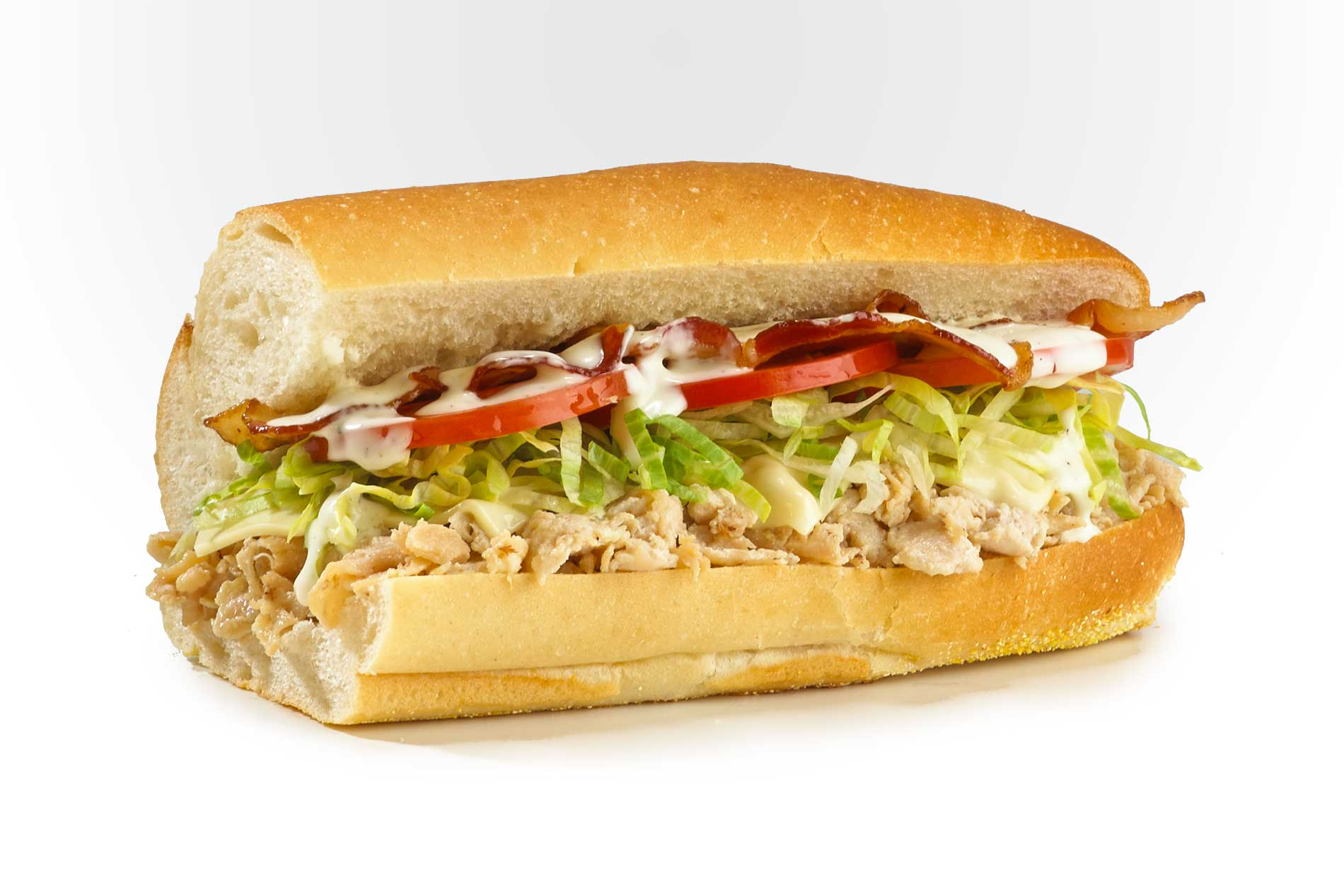 #26 Bacon Ranch Chicken Cheese Steak - Hot Subs
