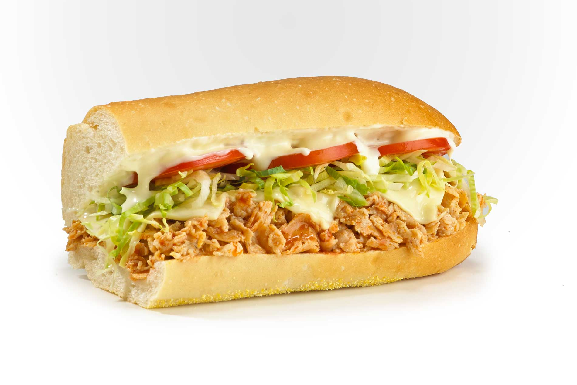 #44 Buffalo Chicken Cheese Steak - Hot Subs