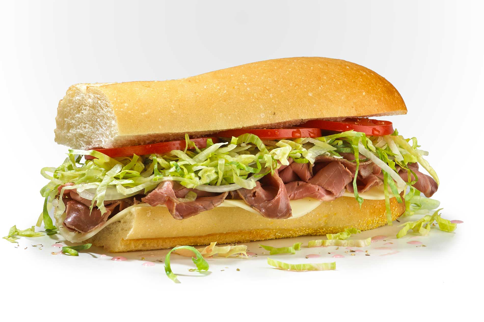 #6 Famous Roast Beef and Provolone - Cold Subs