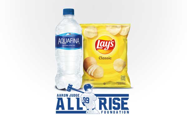 Aaron's Way 20oz Bottled Water & Chips